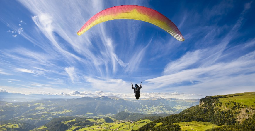 Paragliding in Gangtok: Take your adventure quotient to a new high!