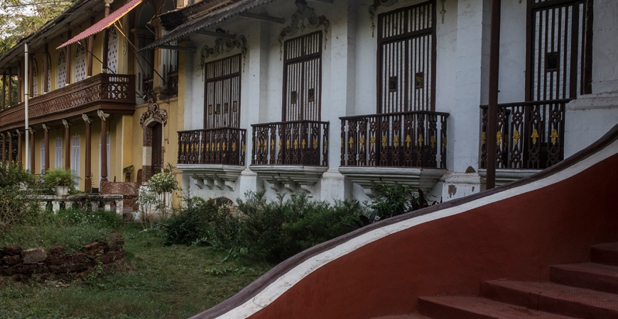 Houses of Goa: A Blend of Konkan and Portuguese Styles